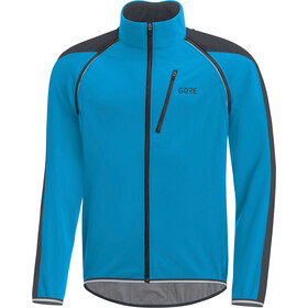 GORE WEAR C3 Windstopper Phantom Zip-Off Jacket Herrer, dynamic cyan/black